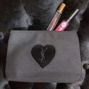 Authentic YSL makeup bag